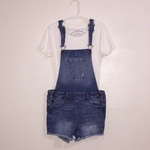 Justice Girls Overalls w./ Rips